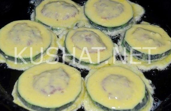 Рецепт фаршированные кабачки с фаршем запеченные в духовке