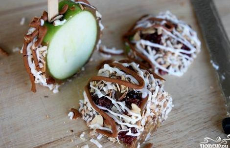 Рецепт яблоки в карамели в домашних условиях