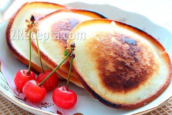Рецепт оладьев на кефире пышных без дрожжей с фото