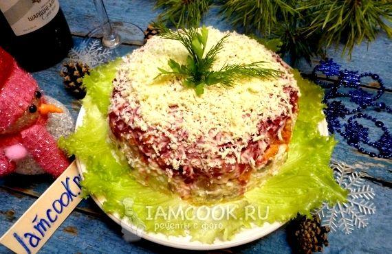 Рецепт сельдь под шубой классический с фото пошагово