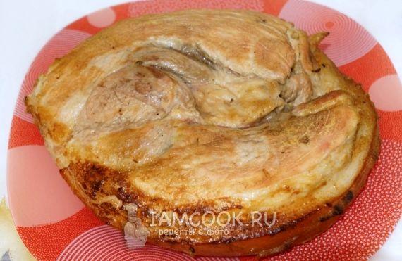 Рецепт свинина запечённая в фольге в духовке