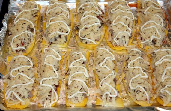 Рецепт в духовке кабачки с помидорами с сыром в духовке