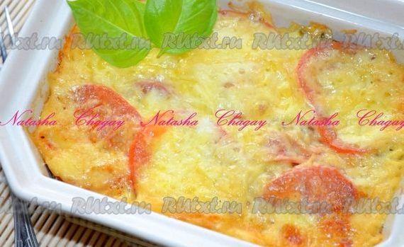 Рецепт запеканки с картошкой и фаршем в духовке