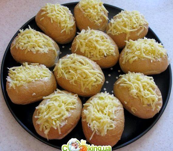 Рецепт жульена с грибами и курицей в духовке