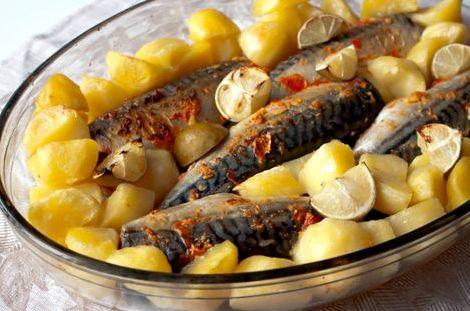 Рыба в фольге в духовке с картофелем рецепт с фото