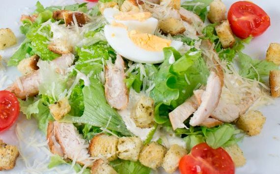 Салат греческий классический простой рецепт с курицей