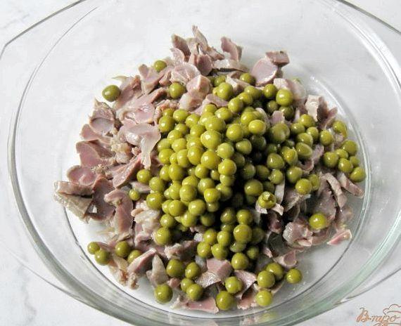 Салат из куриных желудков рецепт с фото очень вкусный