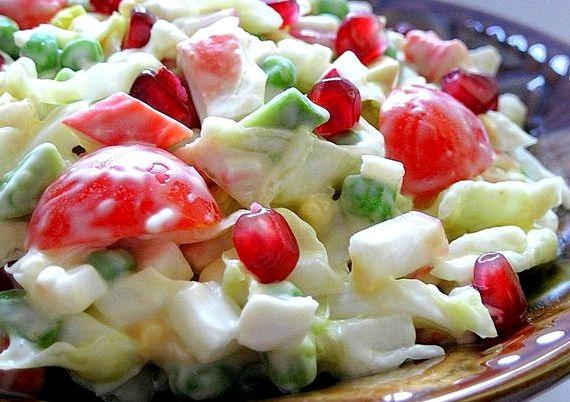 Салат с кукурузой и крабовыми палочками рецепт классический рецепт