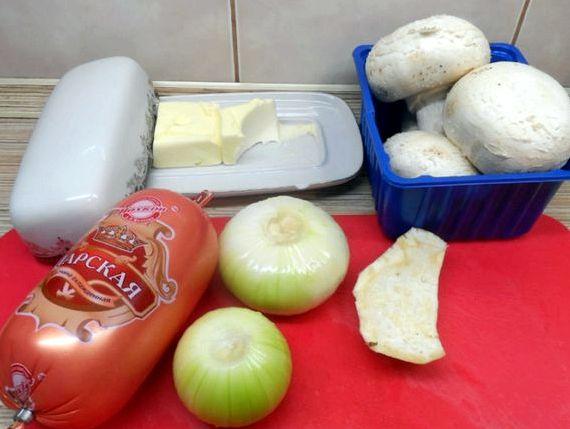 Шампиньоны фаршированные в духовке с сыром рецепт с фото пошагово