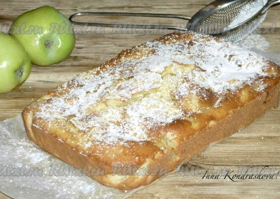Шарлотка с творогом и яблоками рецепт с фото пошагово в духовке