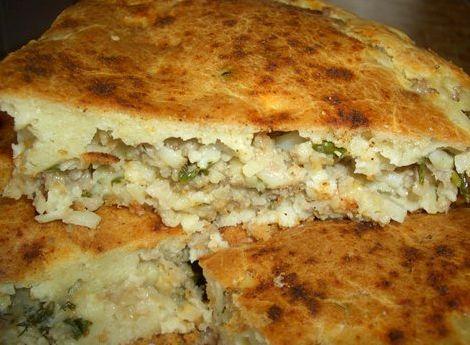 Штрудели с мясом и картошкой рецепт с фото