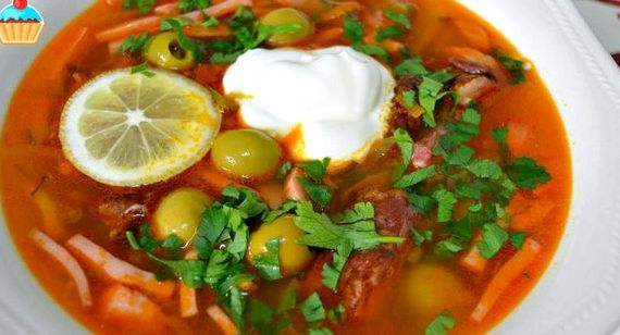 Солянка сборная мясная классическая рецепт с фото с картошкой