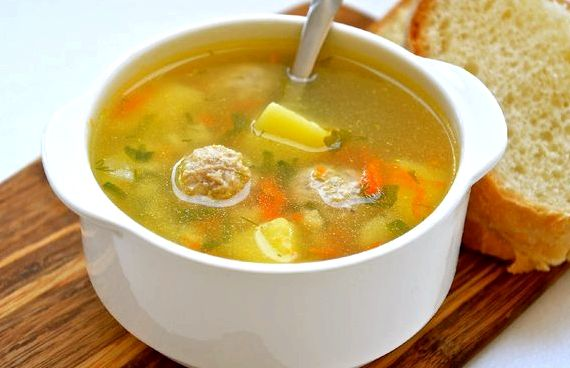Суп из фрикаделек рецепт с вермишелью и картошкой рецепт с фото