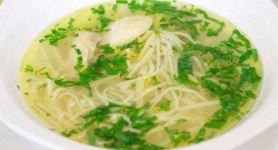 Суп с домашней лапшой и курицей рецепт самый вкусный