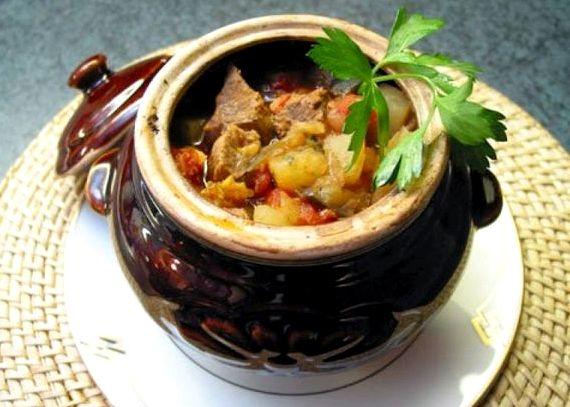 Рецепты блюд в горшочках в духовке с фото