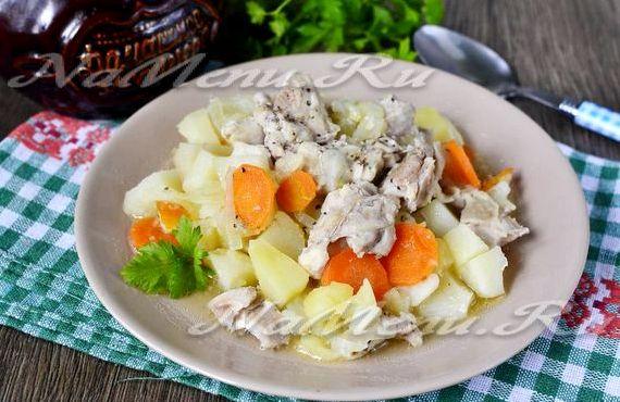 Свиные ребрышки в духовке с картошкой рецепт с фото в духовке