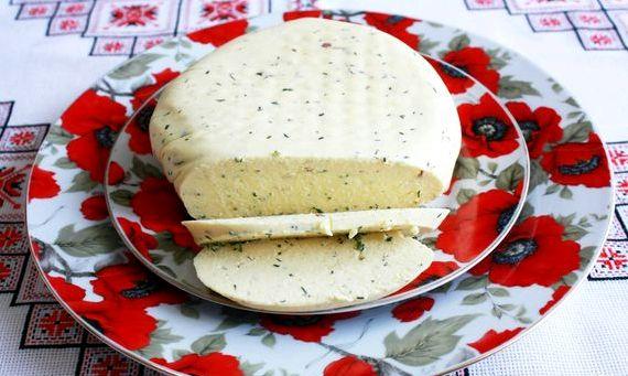 Сыр из козьего молока в домашних условиях рецепт видео