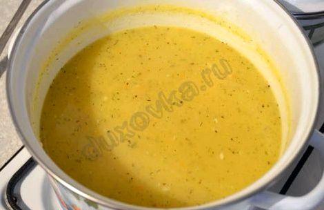 Сырный суп рецепт с плавленным сыром и курицей с фото