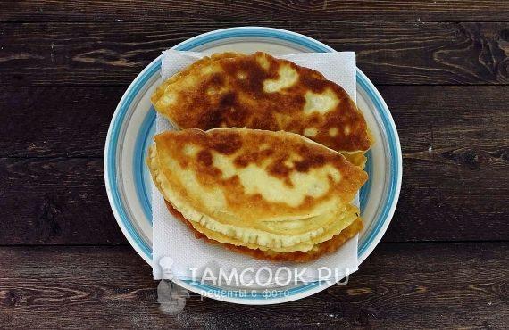 Тесто на пирожки жареные на сковороде на кефире рецепт