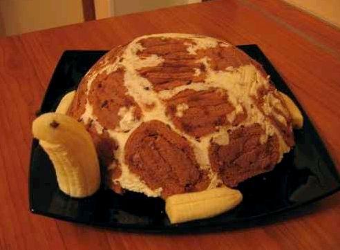 Торт черепашка рецепт с фото со сметаной в домашних условиях