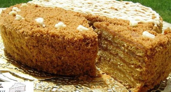 Торт стёпка растрёпка рецепт с фото пошагово