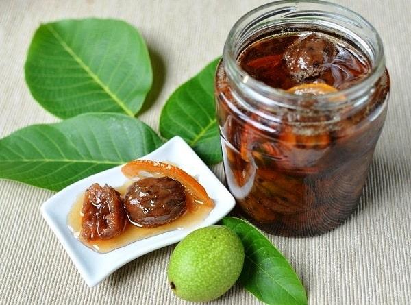 Варенье из грецких орехов зеленых с кожурой рецепт 🍎