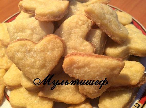 рецепт простого печенья в домашних условиях быстро