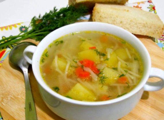 Вкусный куриный суп с вермишелью пошаговый рецепт с фото