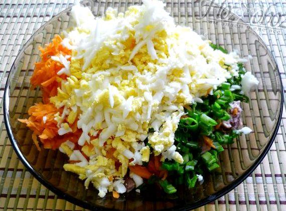 вкусный салат с тунцом рецепт с фото