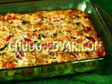 запеканка из кабачков с фаршем в духовке рецепты с фото пошагово
